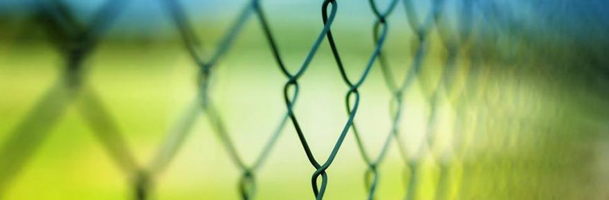 Rete metallica per recinzione